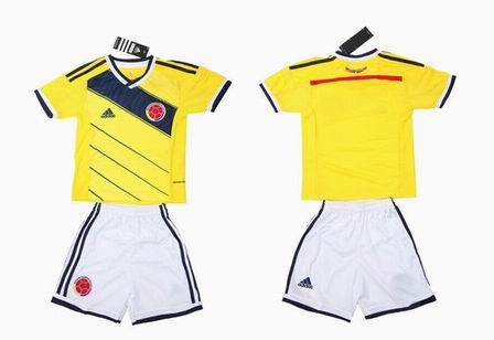 14The World Cup Colombia home kids