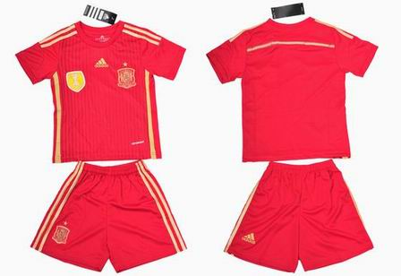 14The World Cup Spain home kids