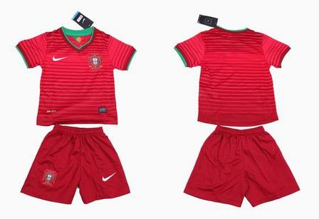 14World Cup Portugal home kids