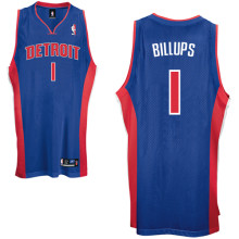 Detroit Pistons #1 C Billups Road blue
