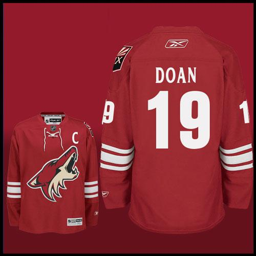 NHL Phoenix Coyotes #19 Shane Doan Red Jersey