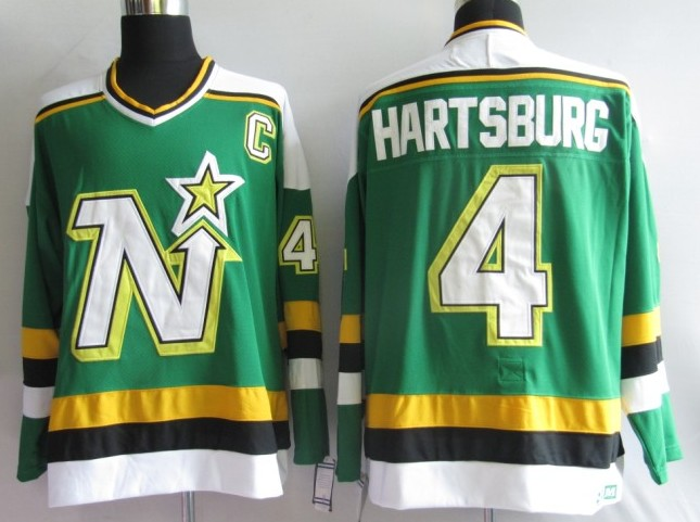NHL Jerseys Dallas Stars 4# Hartsburg Green CCM