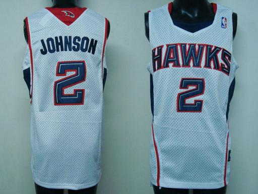 Atlanta Hawks #2 Johnson Swingman Home Jersey