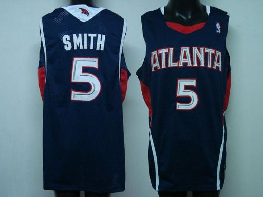 Atlanta Hawks #5 Smith Swingman Road Jersey