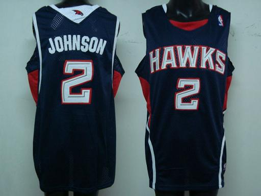 Atlanta Hawks #2 Johnson Swingman Road Jersey