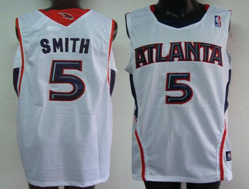 Atlanta Hawks #5 Smith Swingman Home Jersey