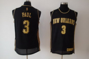 New Orleans Hornets 3 Chris Paul black SWINGMAN jerseys