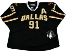 Dalls Stars #91 Richards Black Jerseys