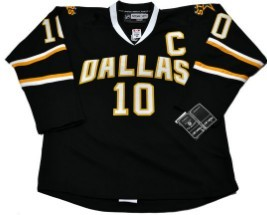Dalls Stars #10 MORROW Black Jerseys