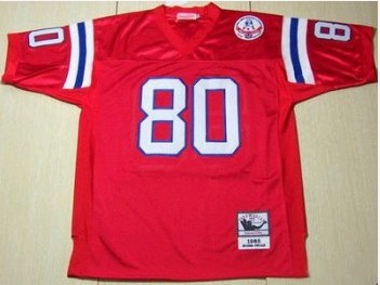 New England Patriots 1985 Irving Fryar 80 Throwback Red Jersey
