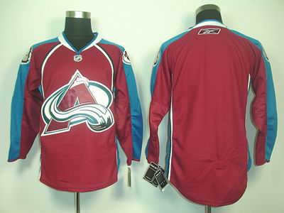 Colorado Avalanche blank Red jersey