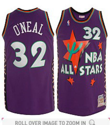 Mitchell Ness Orlando Magic Shaquille O Neal 1994-95