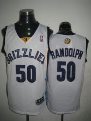 NBA Memphis Grizzlies 50# Randolph White Jerseys