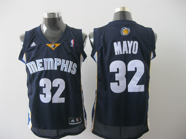 memphis grizzlies #32 mayo blue[2011 swingman revolution 30]