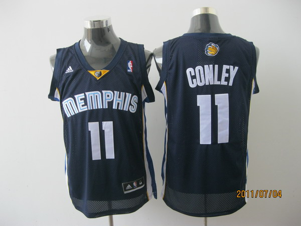memphis grizzlies #11 conleyl blue[2011 swingman revolution 30]