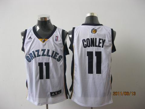 memphis grizzlies #11 conleyl white[2011 swingman revolution 30]