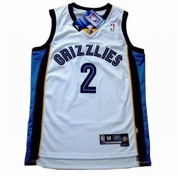 memphis grizzlies #2 jason williams white