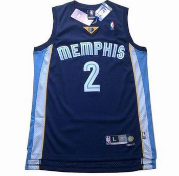 memphis grizzlies #2 jason williams blue