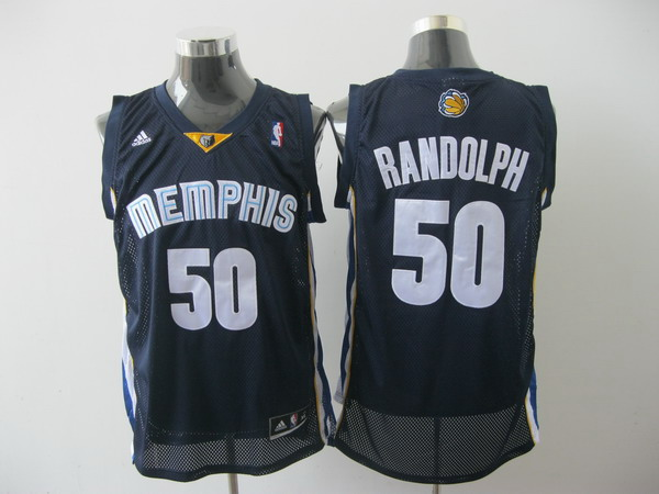 memphis grizzlies #50 randolph blue[2011 swingman revolution 30]