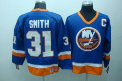 NHL Dallas Stars #31 SMITH Blue Jerseys