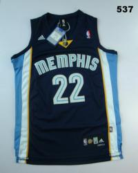 NBA Memphis Grizzlies 22# Mayo Blue Jerseys