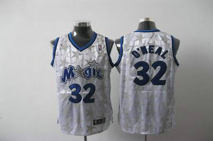 Orlando Magic 32 Shaquille O Neal white Jersey