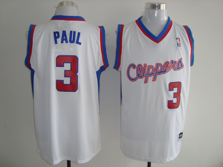 los angeles clippers 3 PAUL White