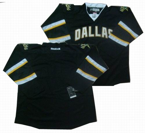 Dalls Stars blank Black Jerseys