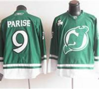 New Jersey Devils 9 Parise Green Jerseys 2011 St Pattys Day