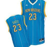 New Orleans Hornets 23# Anthony Davis Green Jersey