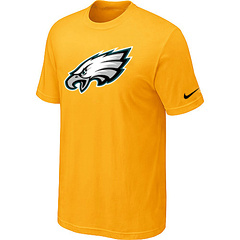 Philadelphia Eagles Sideline Legend Authentic Logo Dri-FIT T-Shirt Yellow