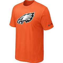 Philadelphia Eagles Sideline Legend Authentic Logo Dri-FIT T-Shirt Orange