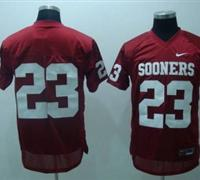 Sooners #23 Allen Patrick Red Embroidered NCAA Jersey