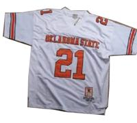 Oklahoma State Cowboys BARRY SANDERS #21 Jersey