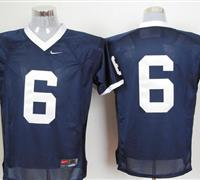 Nittany Lions #6 Navy Blue Embroidered NCAA Jerseys