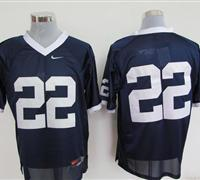 Nittany Lions #22 Navy Blue Embroidered NCAA Jerseys