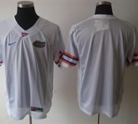NCAA COLLEGE Florida Gators blank White Football Jersey