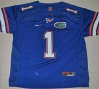 Gators #1 Chris Rainey Blue Embroidered NCAA Jersey