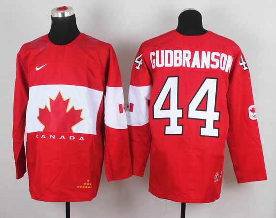2014 IIHF Ice Hockey World Championship jersey 44# Gudbranson red