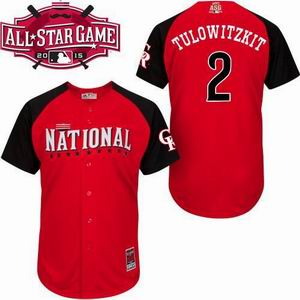 2015 all star National Rockies 2 Tulowitzkit  jersey