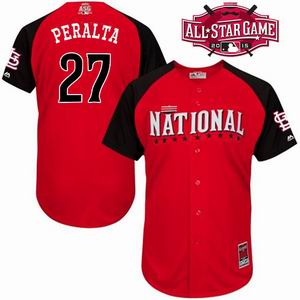 2015 all star National cardinals 27 Peralta red  jersey