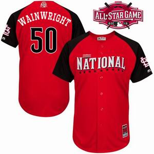 2015 all star National cardinals 50 wain wright  jersey