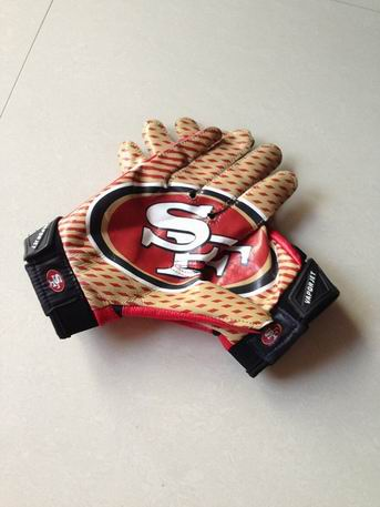 49ers gloves