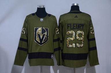 Adidas nhl pittsburgh penguins #29 Fleury army green jersey