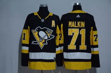 Adidas nhl pittsburgh penguins #71 Malkin black jersey