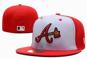 Atlanta Braves fitted cap 013
