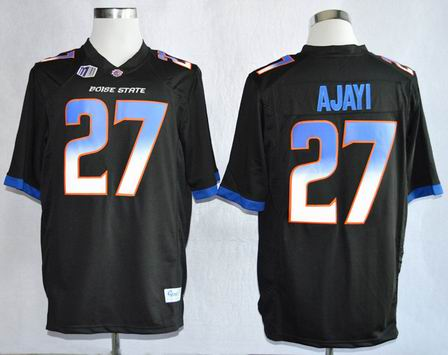 Boise State Broncos Jay Ajayi 27 College Football Jerseys-Black