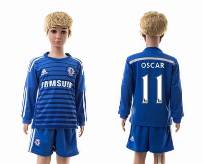 Chelsea home long sleeves kids 11#