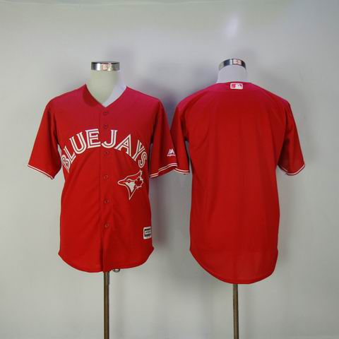 MLB Blue Jays blank red jersey