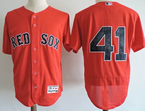 MLB Boston Redsox #41 red flexbase jersey